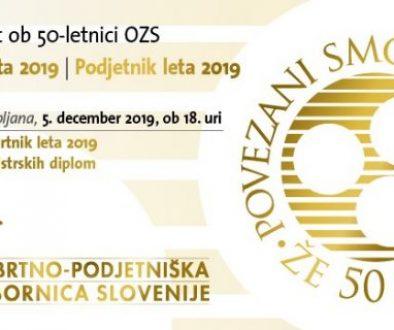 Praznovanje OZS - logo 50 let